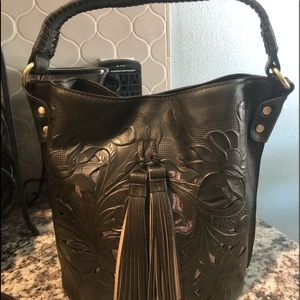 Particia Nash bucket bag